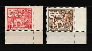 S35778-UK-Great-Britain-1924-MNH-British-Empire-Exposition-2v