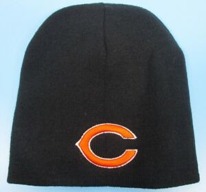98c3095c6 Chicago Bears - Black Knit Winter Hat (Beanie Style) - One Size Fits ...