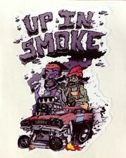 Cheech And Chong Vinyl Decal Sticker Weed Pot Up In Smoke Joint Muf Dvr License