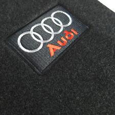 Black Carpet Floor Mats Front Rear 4 Pieces OE For Audi 09-15 A4 S4 08-15 A5 S5