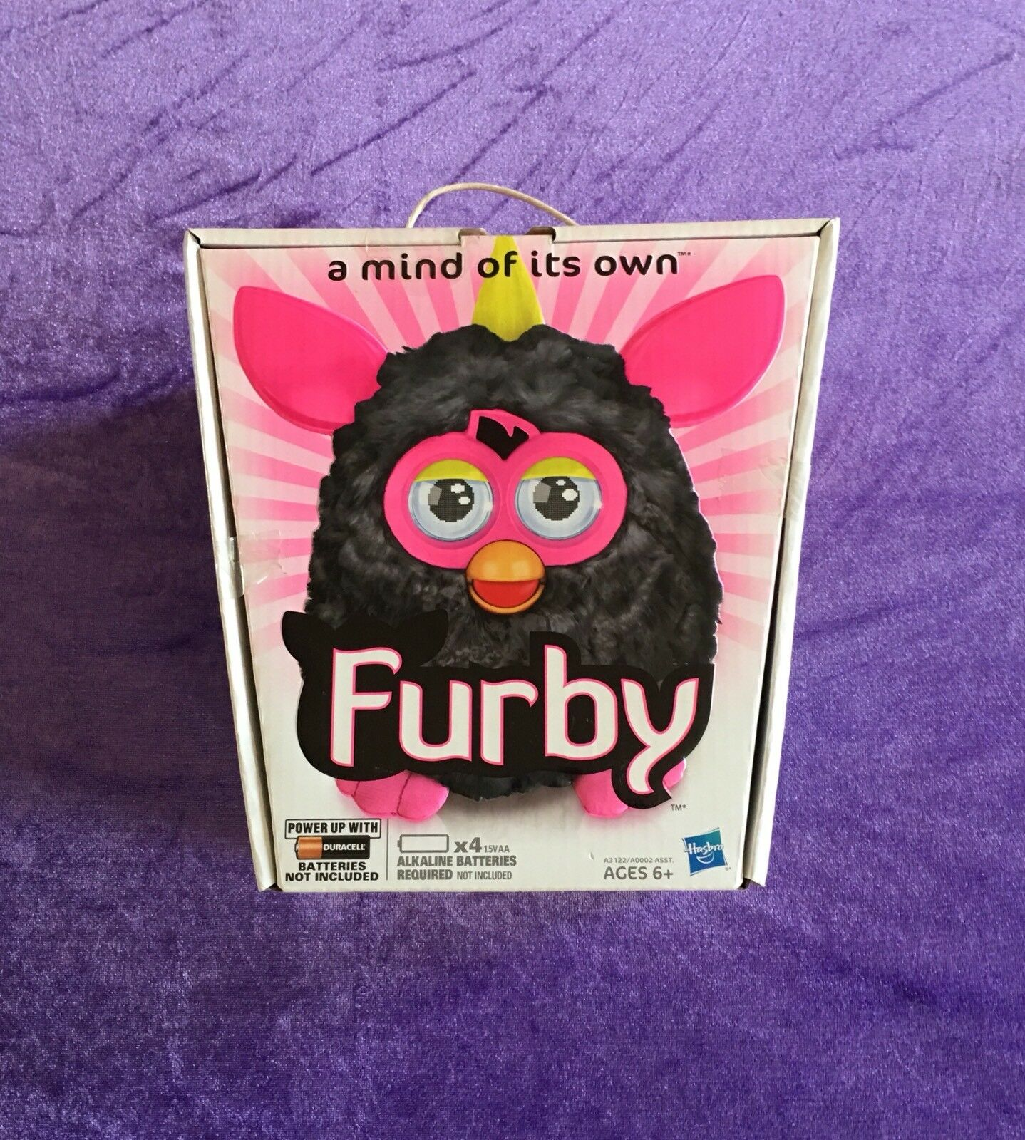 2012 Interactive Furby (Punky Pink) Electronic Toy Made by Hasbro NEW IN BOX