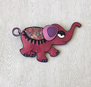 Unique-Elephant-large-brooch-n-enamel-on-metal