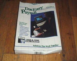 DacEasy-Payroll-Version-4-0-3-5-034-amp-5-25-034-Floppy-Disks-for-DOS-2-1