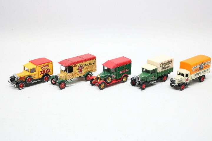 MATCHBOX 5 x models of yesteryear YGB 01 - 06