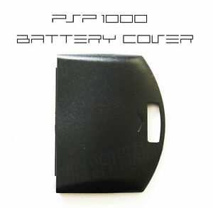 PSP-1000-1XXX-Replacement-Black-Battery-Cover-UK-Dispatch