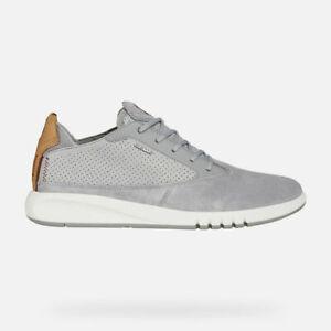 Geox-AERANTIS-sneakers-camoscio-e-pelle-grigio-INS-CUOIO-98GU-CONSIGLIATA-AFFARE