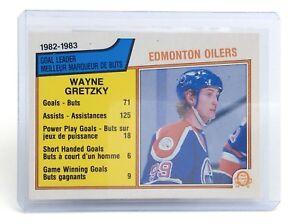 1983-84-Wayne-Gretzky-22-Center-Edmonton-Oilers-O-Pee-Chee-Hockey-Card-I033