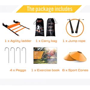 Jump Rope Sport Cones Agility Ladder Scandinavian Sports Speed Training Set