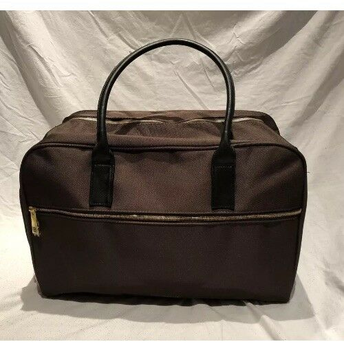 New/&sealed Paco Rabanne Million Brown Weekend Bag Holdall Gym Holiday Etc