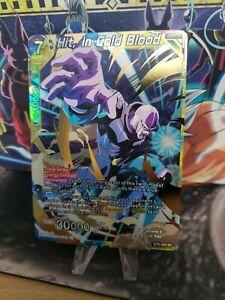 in Cold Blood BT9-093 SR Dragon Ball Super TCG NEAR MINT Hit