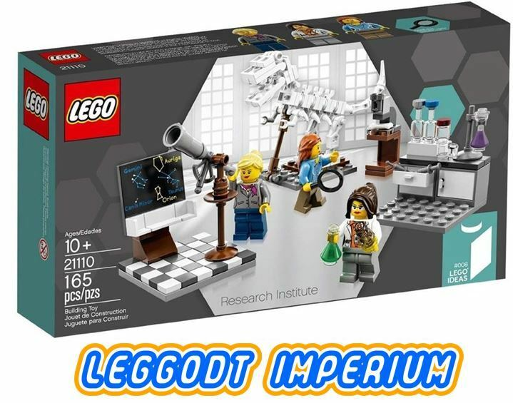 LEGO Ideas Research Institute 21110 - Female Scientists - rare sealed FREE POST