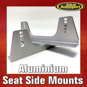Tall Seat Side Mounts Aluminium 6061-T6 Hard Anodised COBRA SPARCO BRIDE RECARO