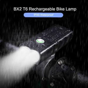 CREE-T6-LED-Lampe-de-velo-Lampe-Frontale-USB-Rechargeable-Feu-Arriere-FR-SQL