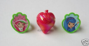 12 Strawberry Shortcake Cup Cake Rings Topper Party Goody