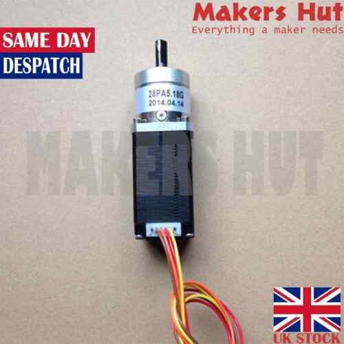 0.67A-80mN.m-1:5 ratio Nema 11 bipolar Nema 11 motor paso a paso orientado