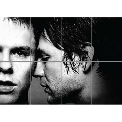 Queer As Folk Gay Guys Drama Cult  Brian Justin Giant Wall Poster Art