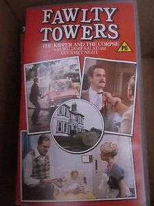 Fawlty Towers video cassette tape VHS - Nottingham, United Kingdom - Fawlty Towers video cassette tape VHS - Nottingham, United Kingdom