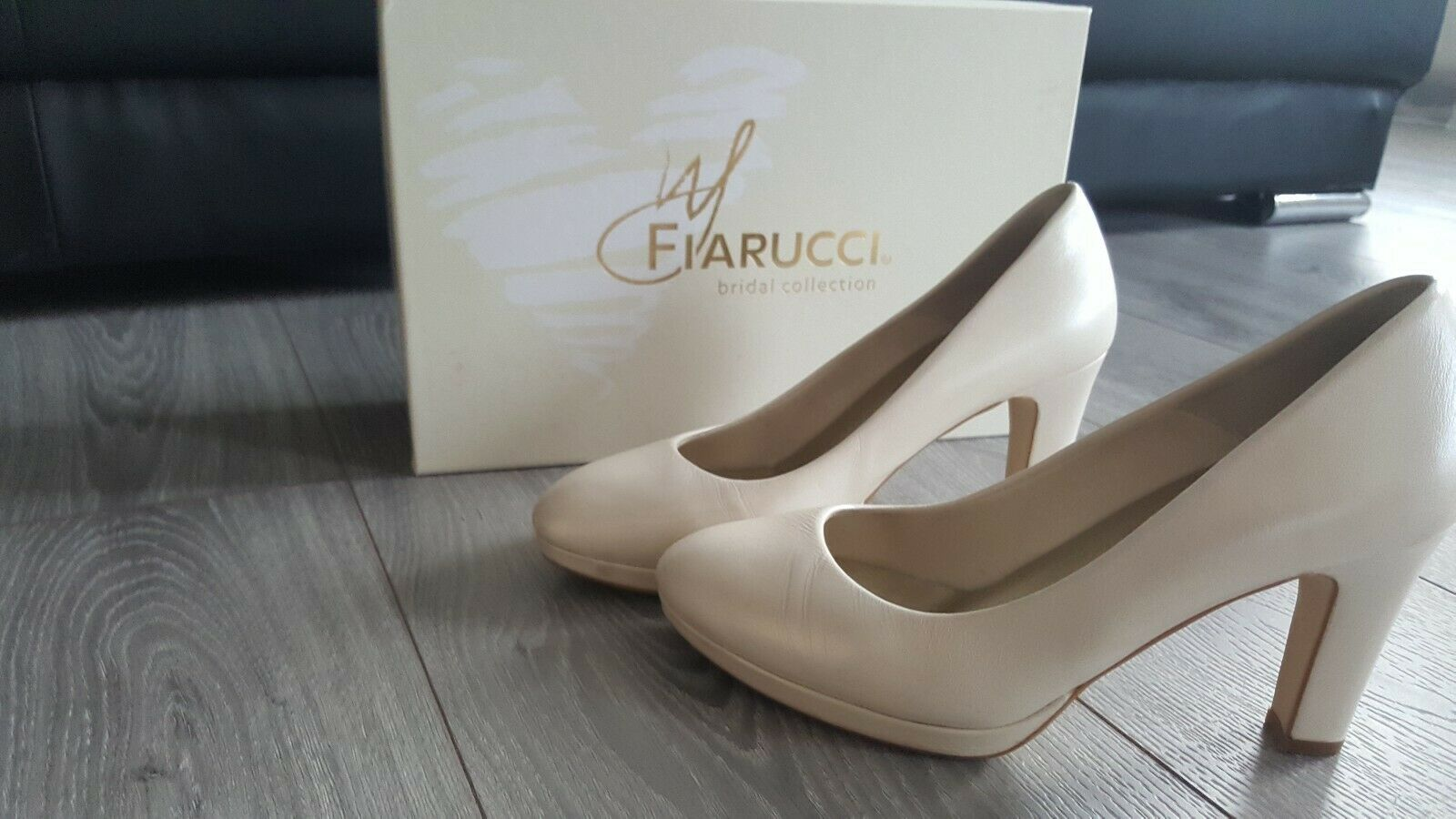 Fiarucci Wedding Shoes Cream