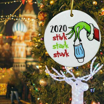 Details about  /2020 Grinch Ceramic Version Stank Stink Stunk Christmas Ornament