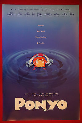 A4 A1 A0 A3 A2 Ponyo Classic Anime Movie Art Large Poster