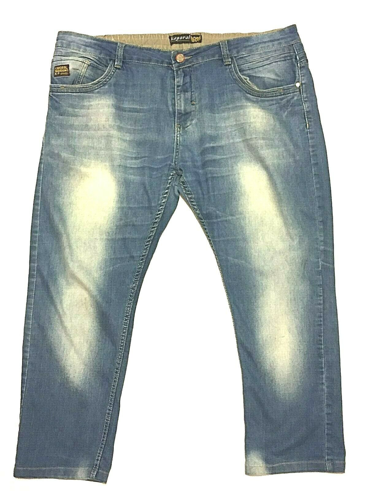 Womens Kaporal 42 Straight leg 42 X 27 Stretch bluee Jeans
