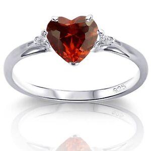 Details zu Elegant Herz Cz Sterlingsilber Opal Geburtsstein Ring