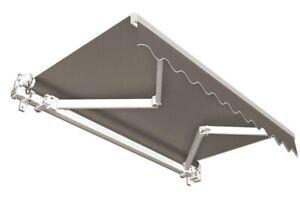 Markise-Balkon-Sichtschutz-Balkonmarkise-Sonnenschutz-anthrazit-6x3-5-m-B-Ware