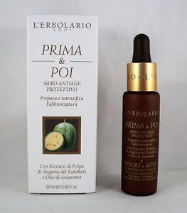 L-039-ERBOLARIO-Siero-antiage-protettivo-PRIMA-amp-POI-28ml-solare-abbronzatura
