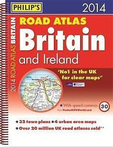 Good-Philip-039-s-Road-Atlas-Britain-and-Ireland-2014-Spiral-A4-Spiral-bound-1