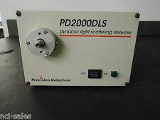 PRECISION DETECTORS PD2000DLS DYNAMIC LIGHT SCATTERING DETECTOR