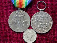 Replica Copy WW1 Czech Victory Medal F/size aged