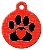 A Dog's Word - Custom Personalized Pet Id Tag For Dog And Cat Collars