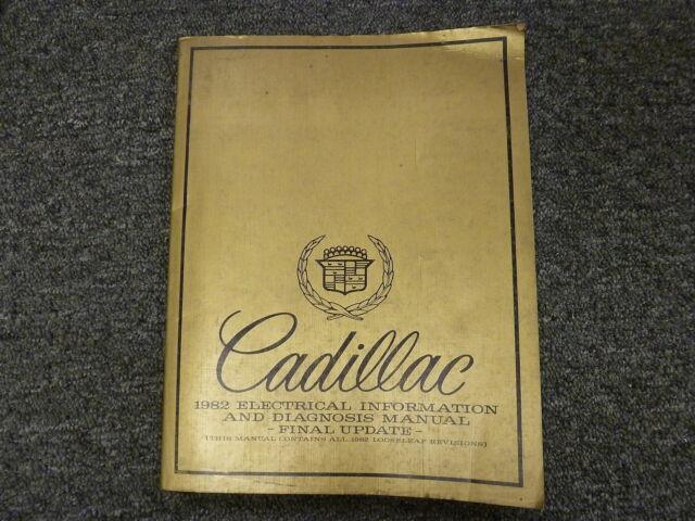 1982 Cadillac Deville  U0026 Eldorado Electrical Wiring Diagram