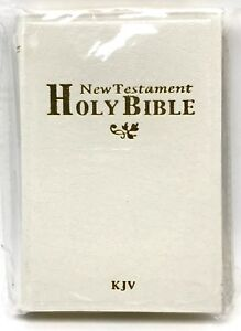 Holy-Bible-New-Testament-Mini-Pocket-4-5-inch-King-James-Version-White-New