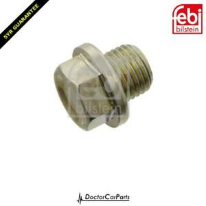 Sump Plug With Washer For Mitsubishi Colt Czc Rg 2006-2009