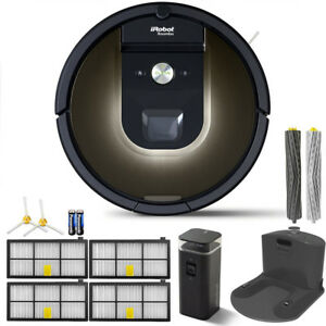 iRobot-Roomba-980-App-Controlled-Self-Charging-Vacuum-w-WiFi-Accessories-Bundle
