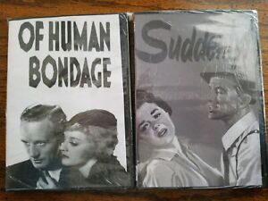 Lot-DVD-Drama-Human-Bondage-Suddenly-Drama-Frank-Sinatra-Betty-Davis-Love-Movies