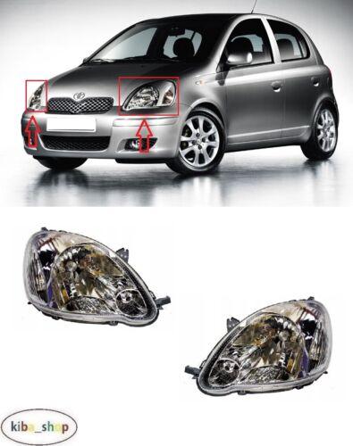 Para Toyota Yaris 2003-2005 Delantero Faros Izquierda LHD tipo: VALEO derecha