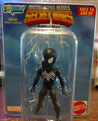 MICRO BOBBLES MARVEL SUPER HEROES SPIDER-MAN SECRET WARS