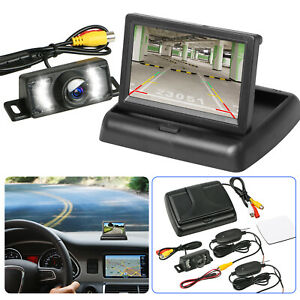 Wireless-Backup-Camera-and-Monitor-Kit-Rear-View-System-Night-Vision-Waterproof