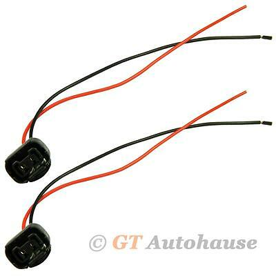2x 5202 H16 PS24W Headlight Fog Driving Parking Light Extension Sockets Adapters