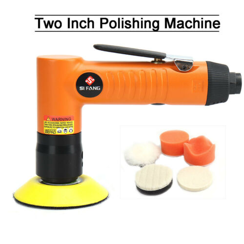 "2/""//3/"" Mini Pneumatic Air Angle Orbital Sanders Polishing Tools With 5Pcs Sponge"