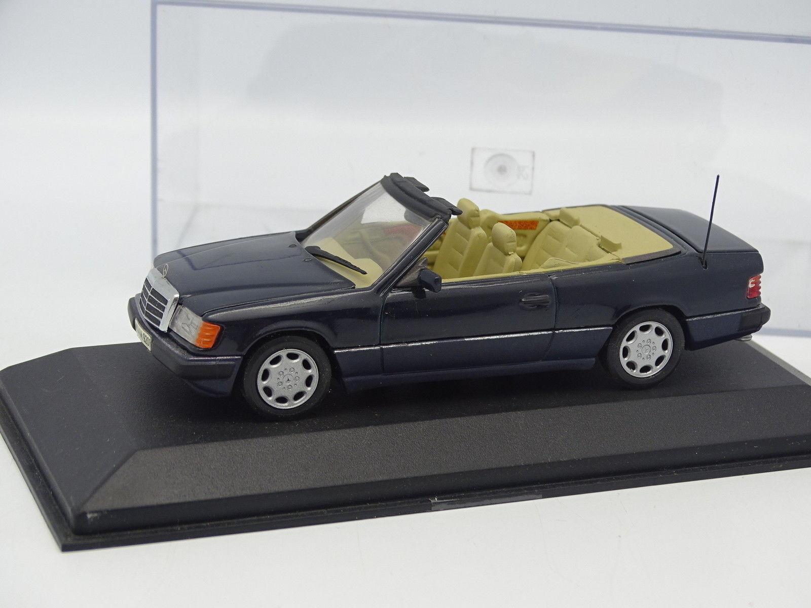 Minichamps 1 43 43 43 - Mercedes 300 CE 24 Cabriolet Bleue  disfruta ahorrando 30-50% de descuento