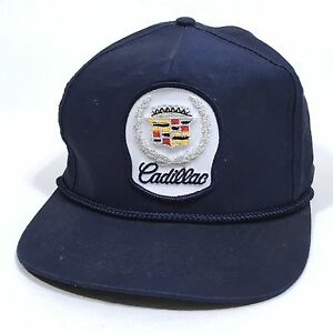 Image is loading Cadillac-Patch-Snapback -Cap-Vintage-Classic-Automotive-Baseball- a85df02c9da