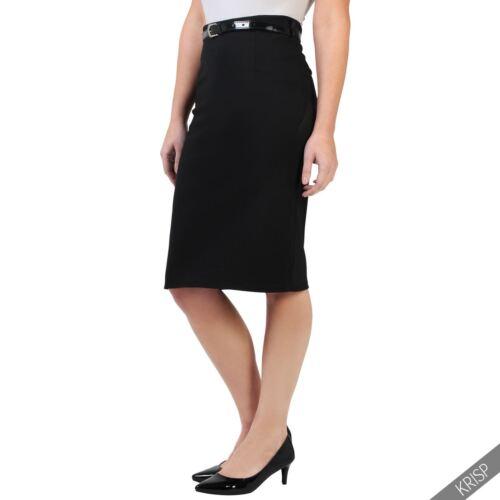 Damen Knielanger Rock Business Kleidung Eleganter Bleistiftrock Figurbetont