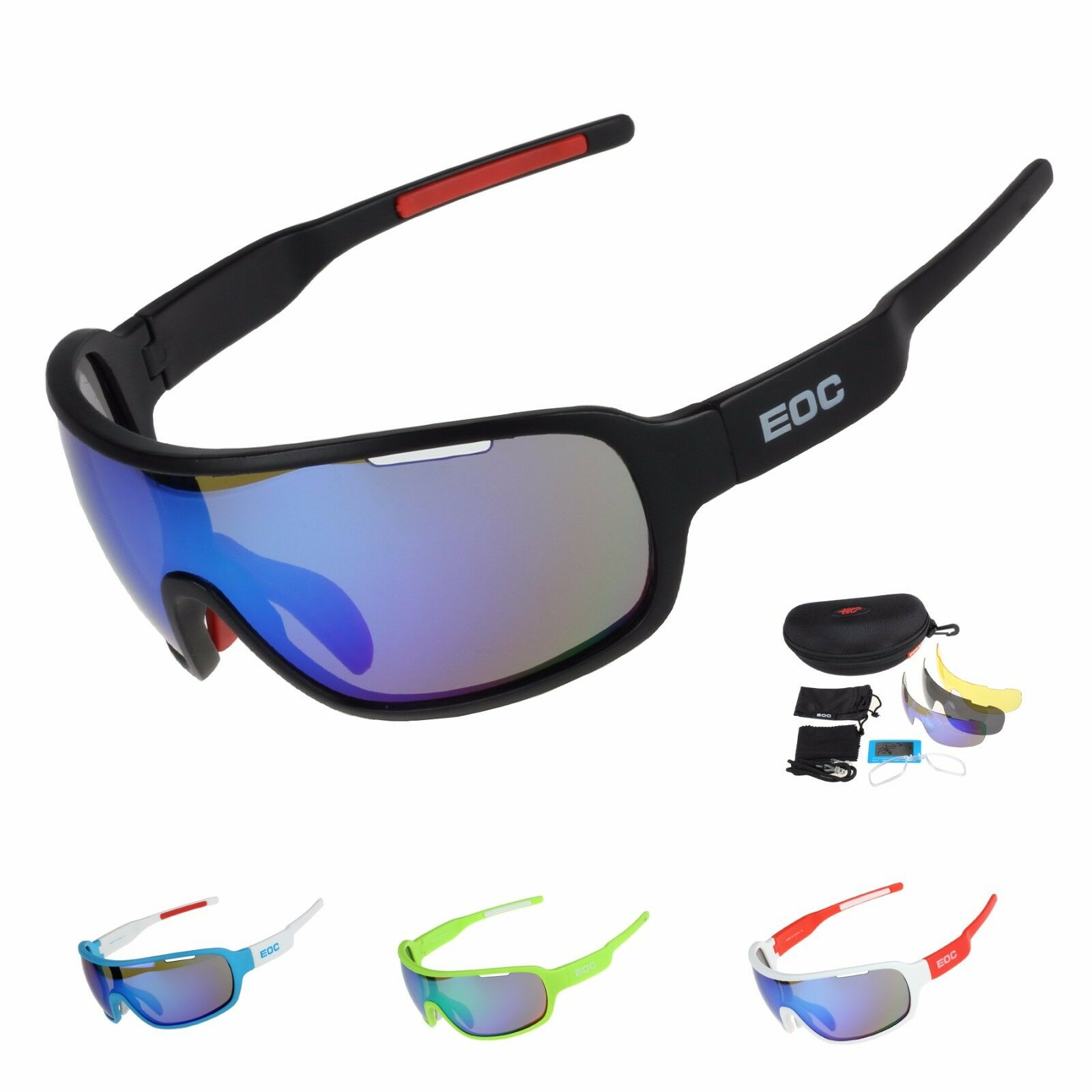 068bd074e0ae New Polarized Cycling Glasses Bike Goggles Bicycle Sunglasses Eyewear UV400  US for sale online
