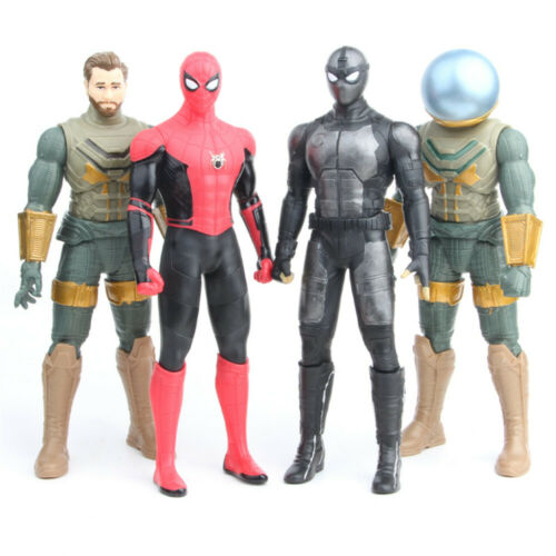 "MARVEL Legends SPIDER-MAN lontano da casa MYSTERIO 12/"" ACTION FIGURE HERO Toys"