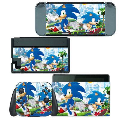 Nintendo Switch Skin Decal Sticker Vinyl Wrap Sonic The Hedgehog Ebay