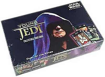 DUEL OF THE FATES BOOSTER BOX STAR WARS YOUNG JEDI CCG