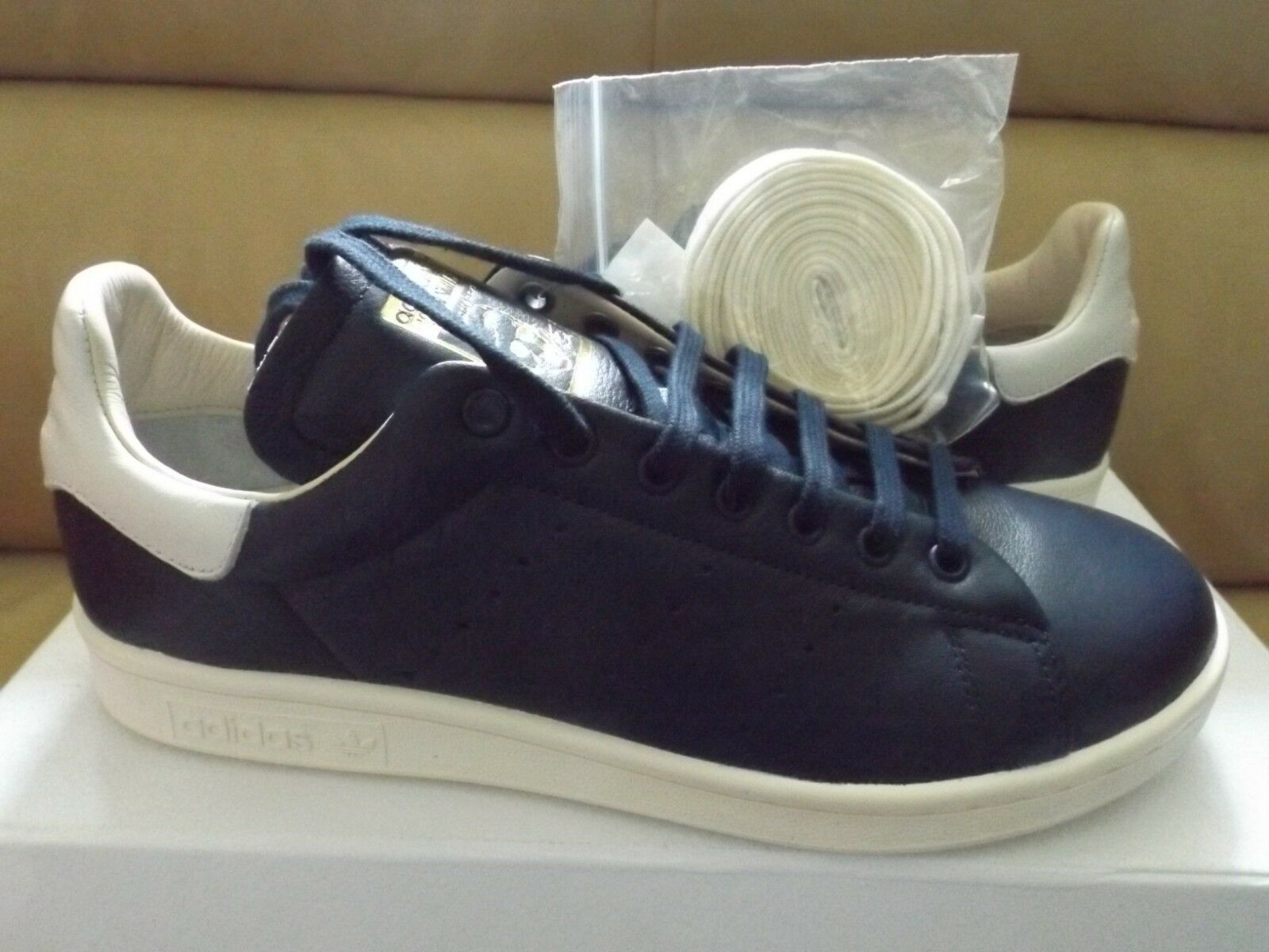 Adidas originali stan smith scarpe ricognizione uomo numero 7 scarpe smith college della marina cq3034 / bianco 780a18